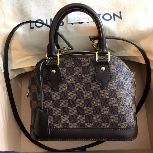 08df3dca9737 Louis Vuitton Handbags - Alma BB Damier Ebene